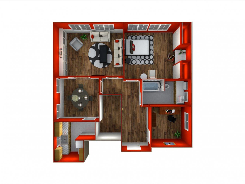 The New Yorker 2 Bedroom Bakersfield 0