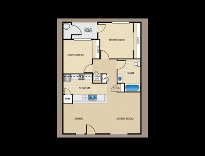 Parc Grove Commons H Building 2 Bed 1 Bath Fresno 0