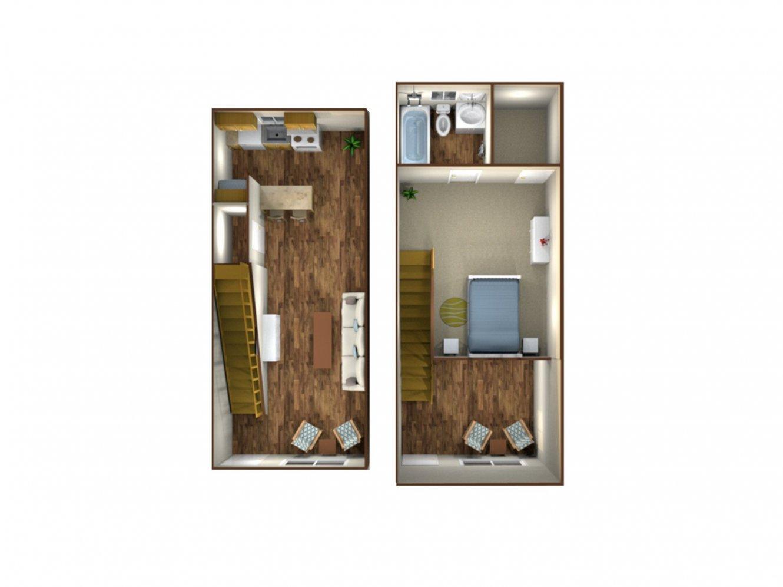 Sunburst Apartments The Loft Fresno 0