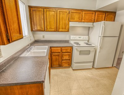 Willow Park Apartments 2 Bedroom Townhome - Plan C Fresno 2