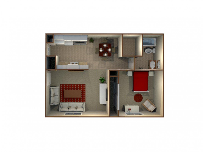 Pacific Grove Apartments 1 Bedroom 1 Bath Clovis 0
