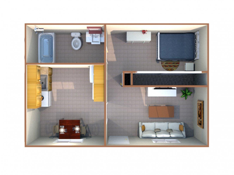 Sierra Terrace East Apartment Studio Bakersfield 0