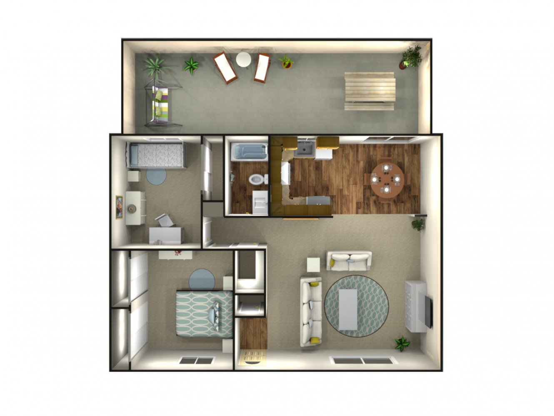 Gettysburg Apartments 2 Bedroom Fresno 0