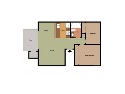 The Laurel Tree Apartments 2 Bedroom 1 Bath Small Bakersfield 0