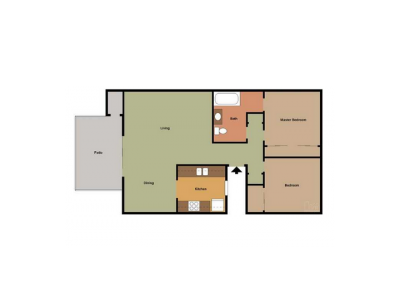 The Laurel Tree Apartments 2 Bedroom 1 Bath Medium Bakersfield 0