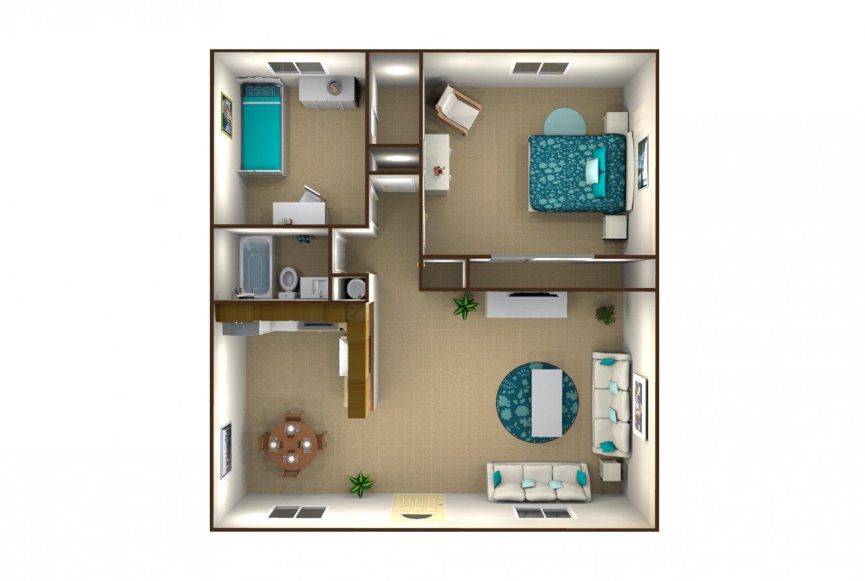 Dennett Gardens 2 Bedroom Fresno 0
