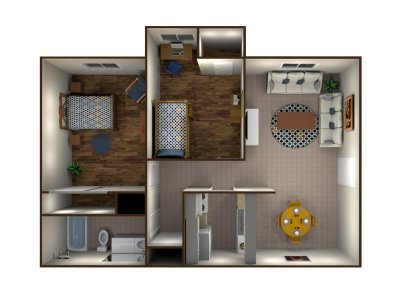 West Chester Place Apartments Two Bedroom Bakersfield 0