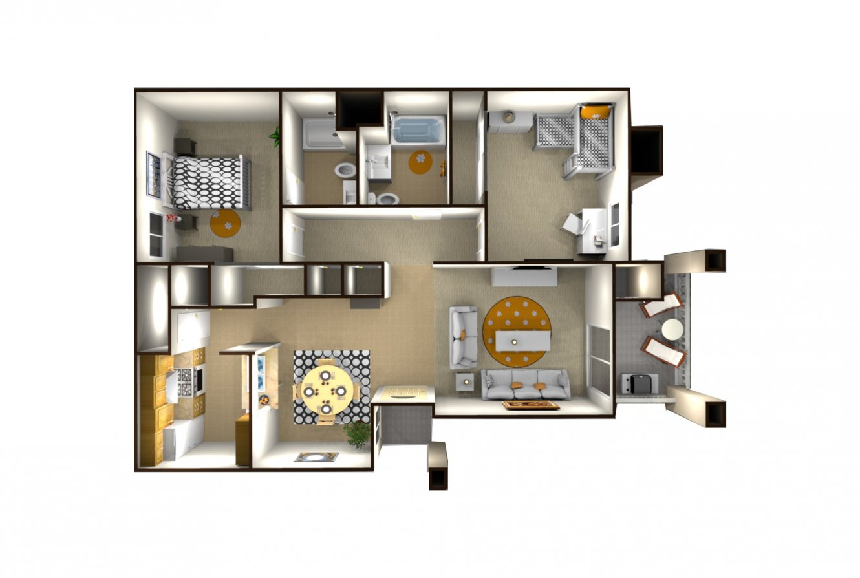 Casa Velasco 2 Bedroom 2 Bath Fresno 0