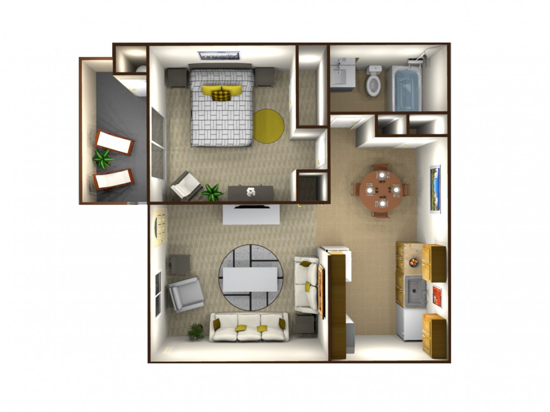 Parkway Village 1 Bedroom Fresno 0