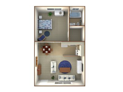 Spring View Apartments 1 Bedroom Bakersfield 0